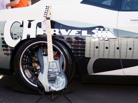 Стильная модель от Charvel Guitars