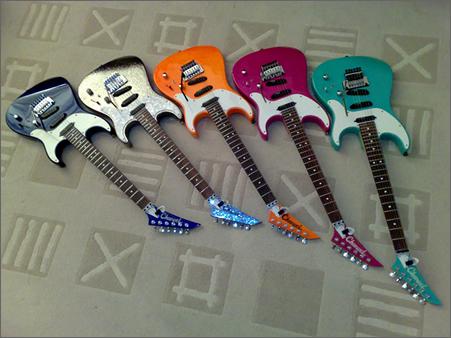 Разнообразие гитар Charvel
