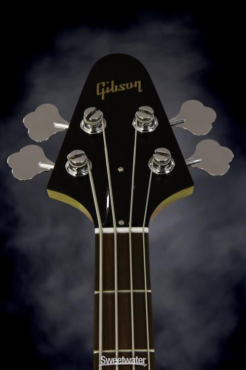 Гриф Gibson Grabber 3 '70s Tribute Bass (Вид спереди)