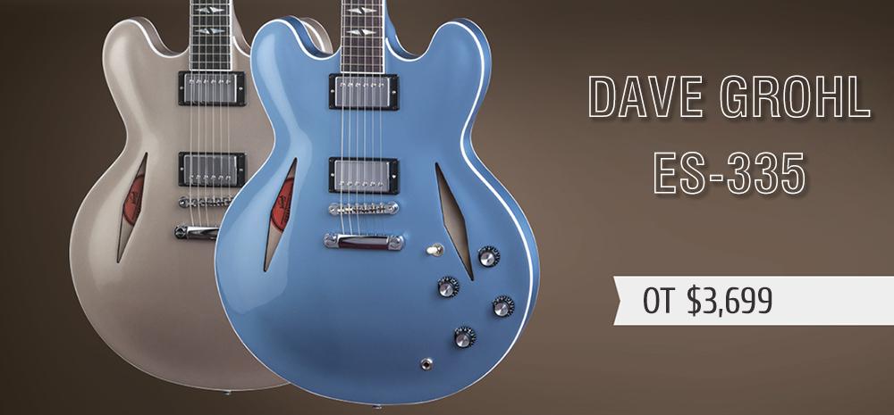 Gibson ES-335 для Дэйва Грола